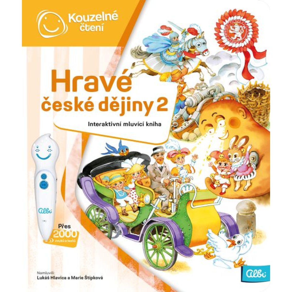 Albi Kúzelné čítanie Hravé české dejiny 2