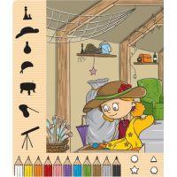 Albi Kúzelné čítanie Kniha Moje prvé farby a tvary CZ 3