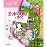 Albi Kúzelné čítanie Kniha Zvieratká v ZOO
