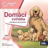 Albi Kúzelné čítanie Minikniha Domácie zvieratá