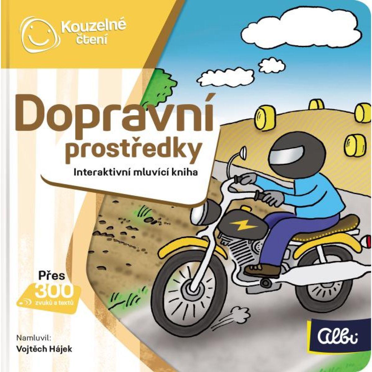 Albi Kúzelné čítanie Minikniha Dopravné prostriedky