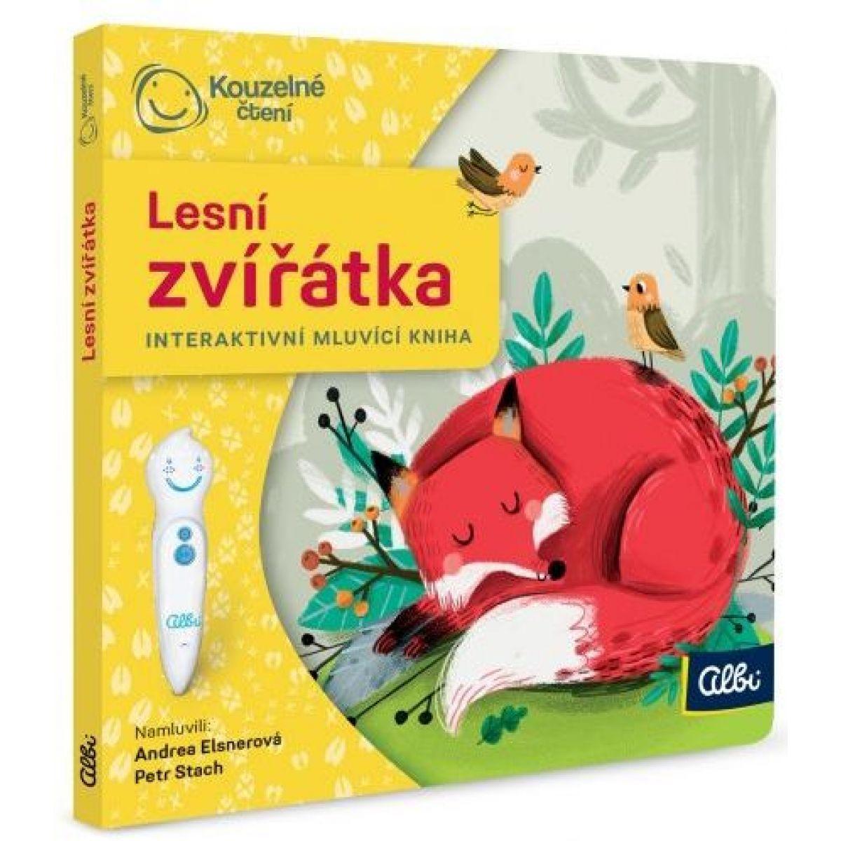 Albi Kúzelné čítanie Minikniha pre najmenších - Lesné zvieratká