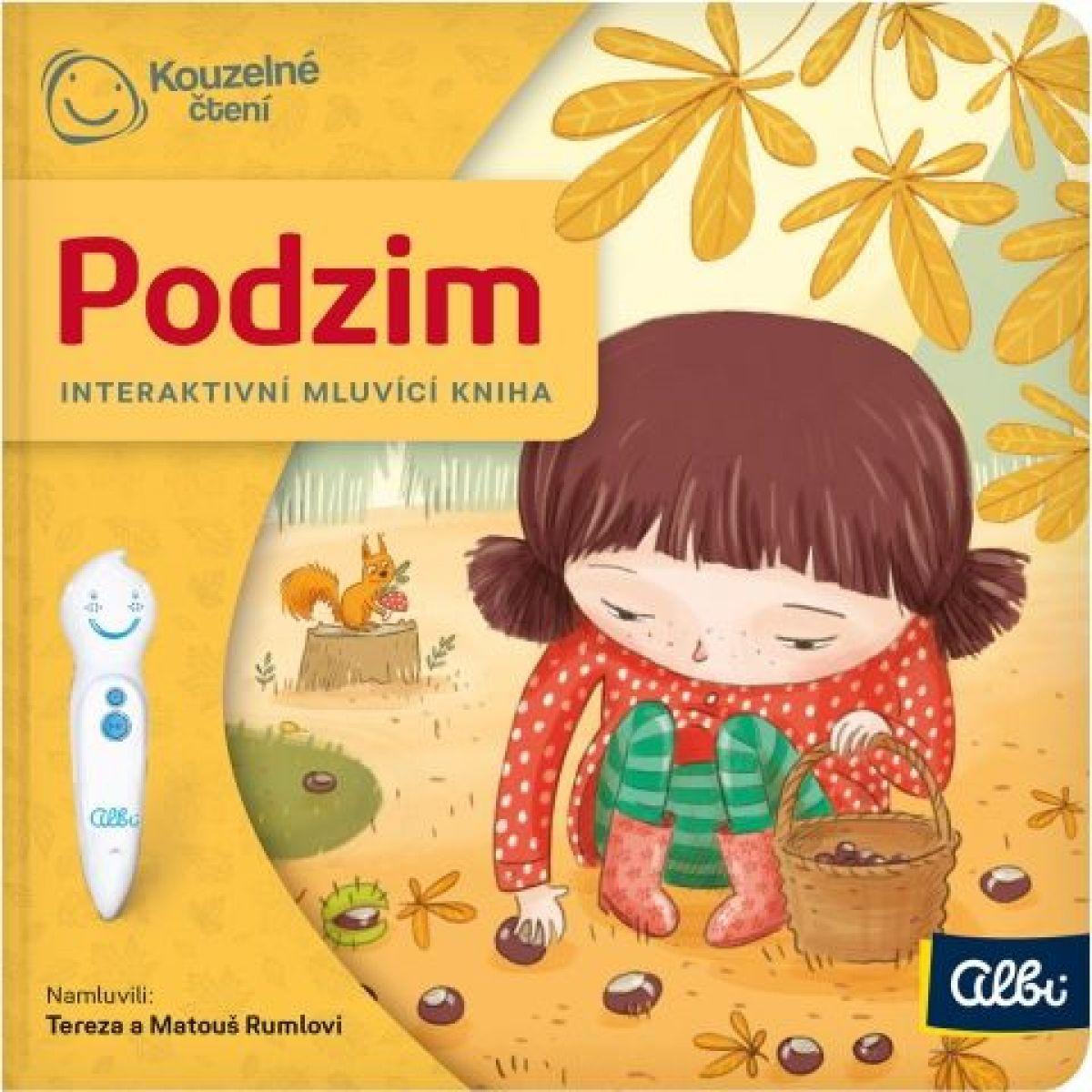 Albi Kouzelné čtení Minikniha pro nejmenší Podzim