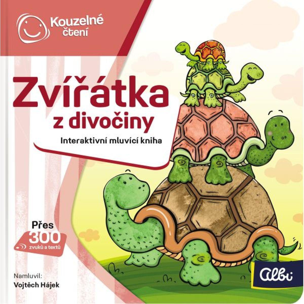 Albi Kúzelné čítanie Minikniha Zvieratká z divočiny