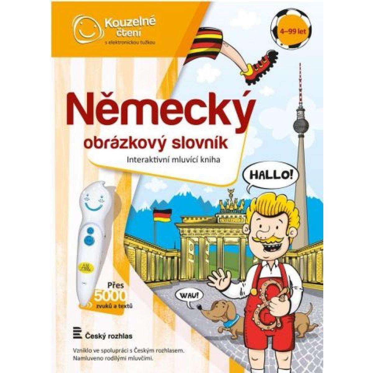 Albi Kúzelné čítanie Nemecký obrázkový slovník