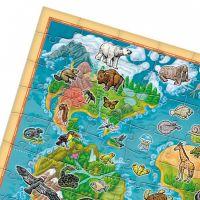 Albi Kúzelné čítanie Puzzle Planéta zvierat - Poškodený obal  3