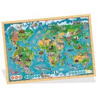 Albi Kúzelné čítanie Puzzle Planéta zvierat 2