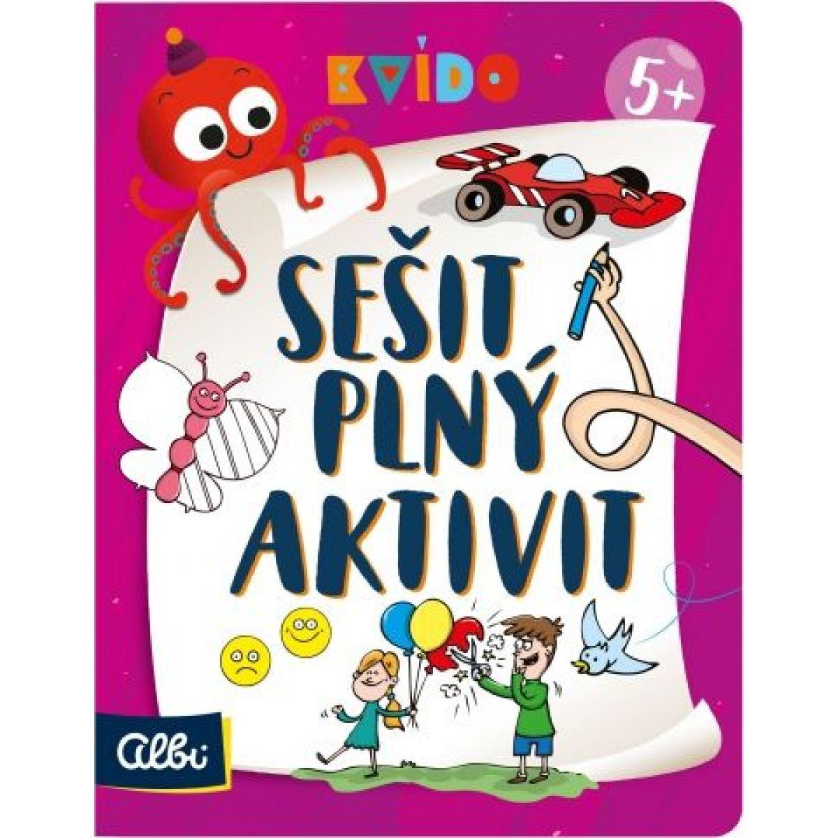 Albi Kvído Zošit plný aktivít 5+