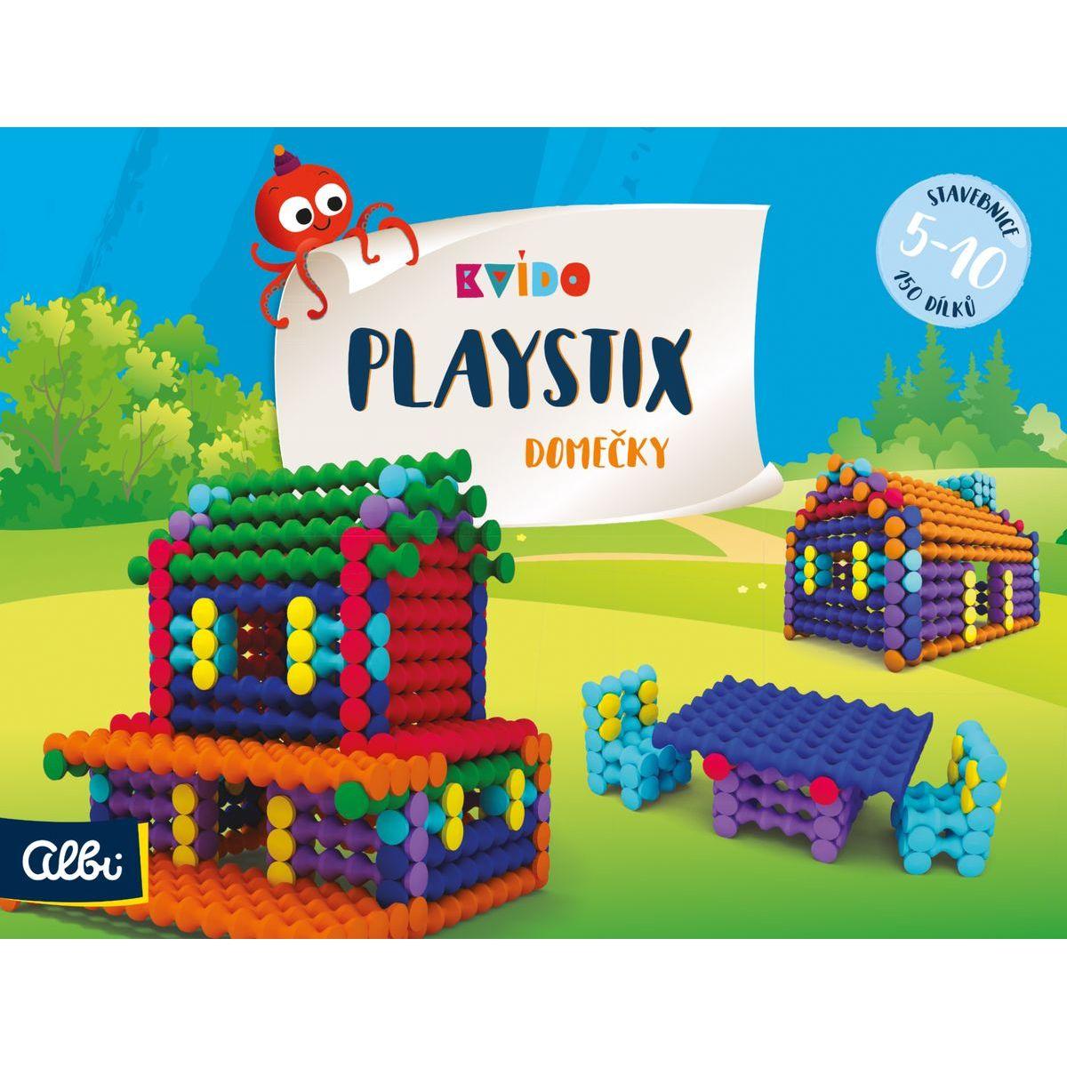 Albi Benjamín Stavebnica Playstix domčeky