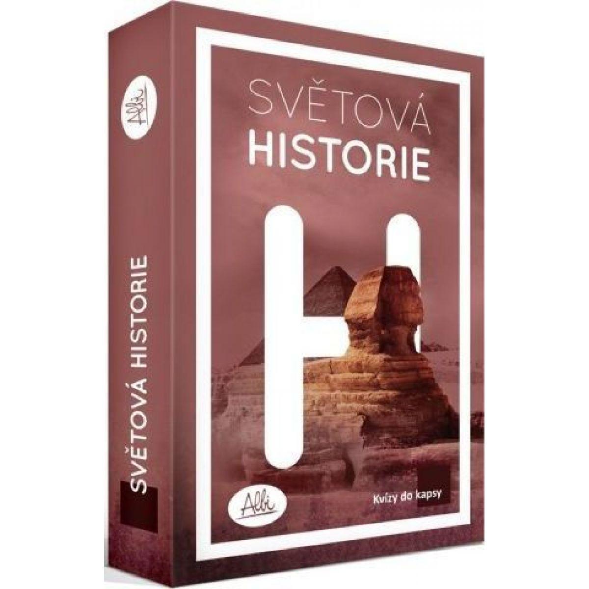 Albi Kvízy do vrecka - Svetová história