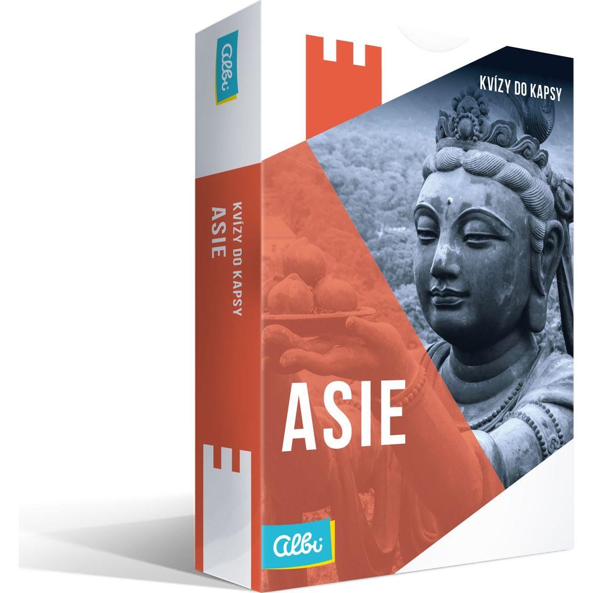 Albi Nové Kvízy do vrecka Ázie