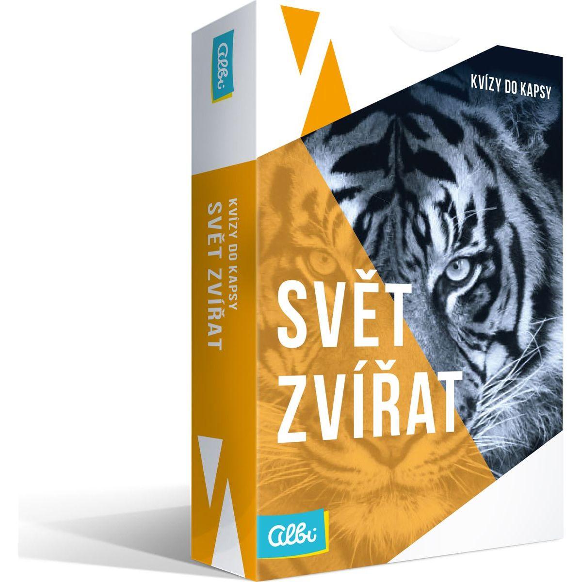 Albi Nové Kvízy do vrecka Svet zvierat