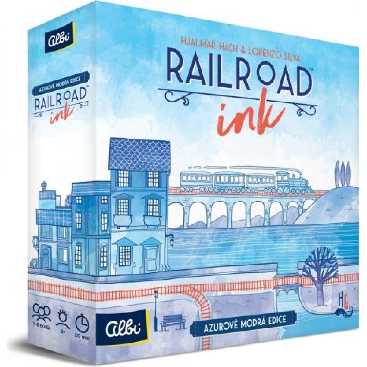 Albi Railroad Ink Svetlomodrá edície
