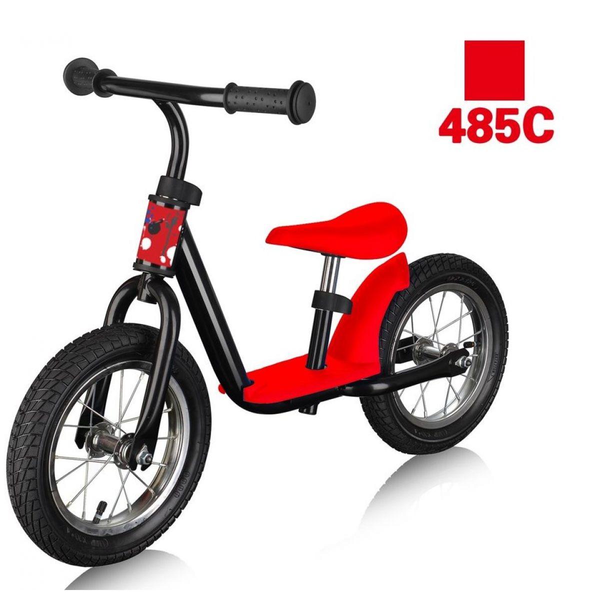 Alltoys Detský bicykel balančný červený