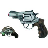 Alltoys Policajný revolver Gold