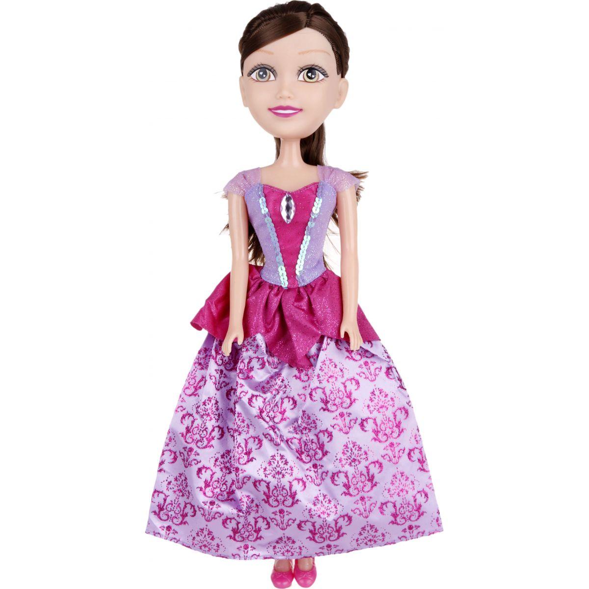 Alltoys Princezná 50 cm Sparkle Girlz Fialovo ružové šaty