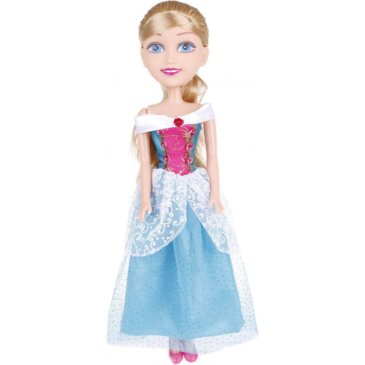 Alltoys Princezná 50 cm Sparkle Girlz Zelené - kytička - šaty