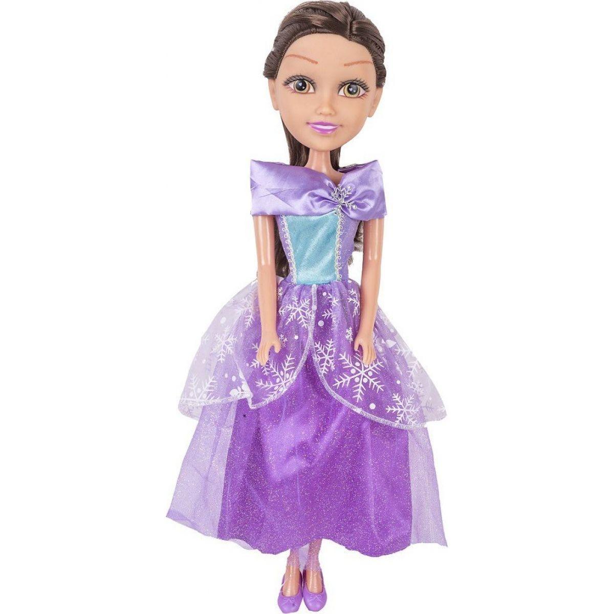 Alltoys Princezná 50 cm Sparkle Girlz Zeleno - fialové šaty
