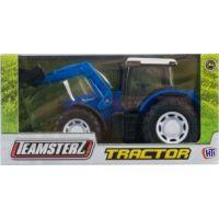 Alltoys Teamsterz Traktor Modrá
