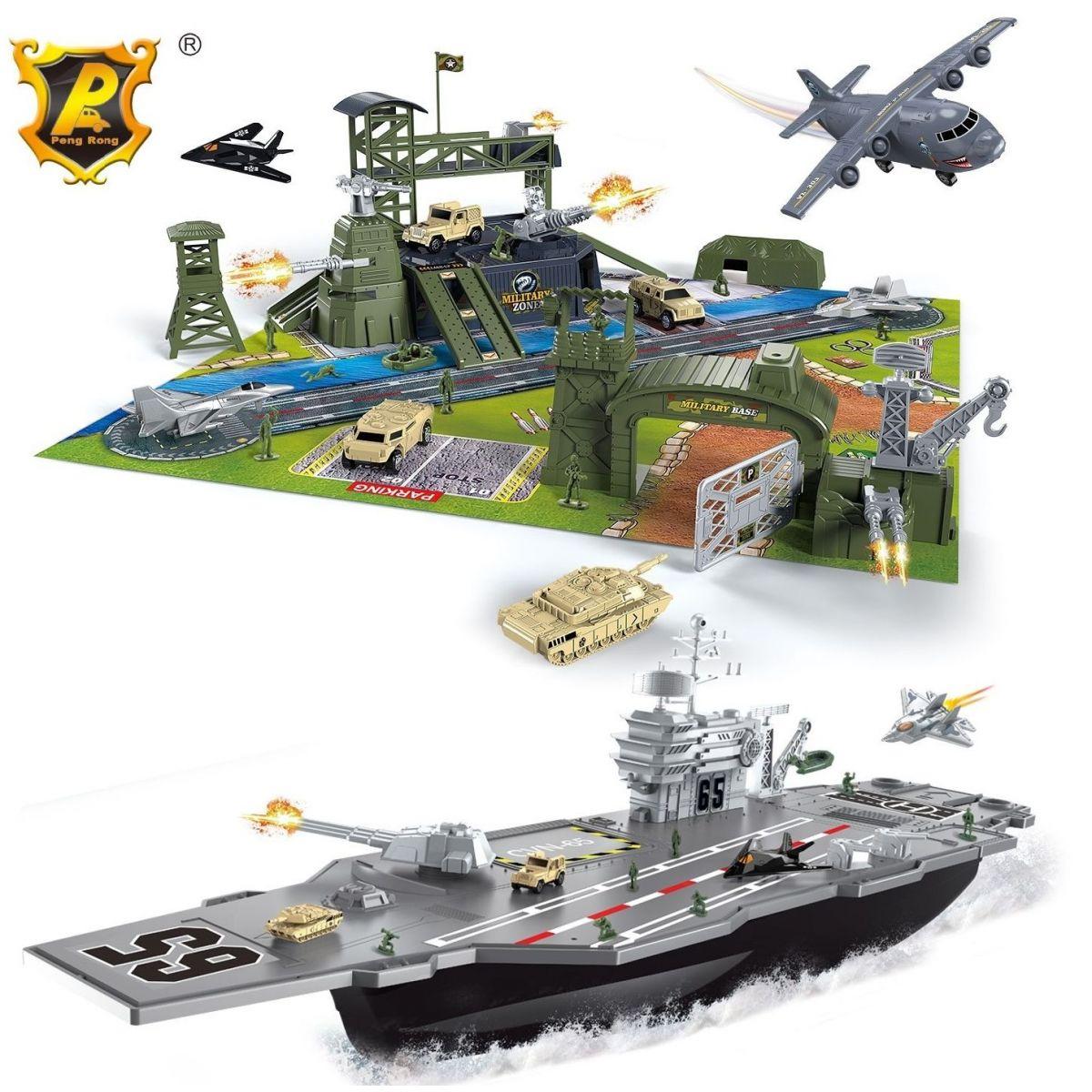 Alltoys Vojenský lietadlový veľký set