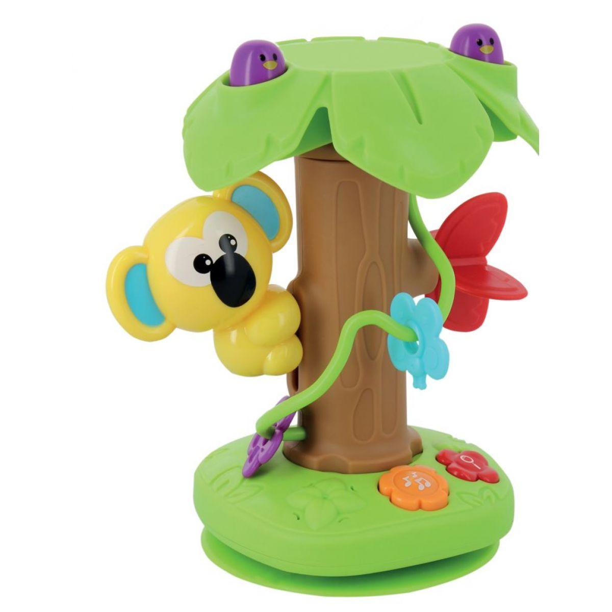 Alltoys Zvuková koala na strome s prísavkou na stôl