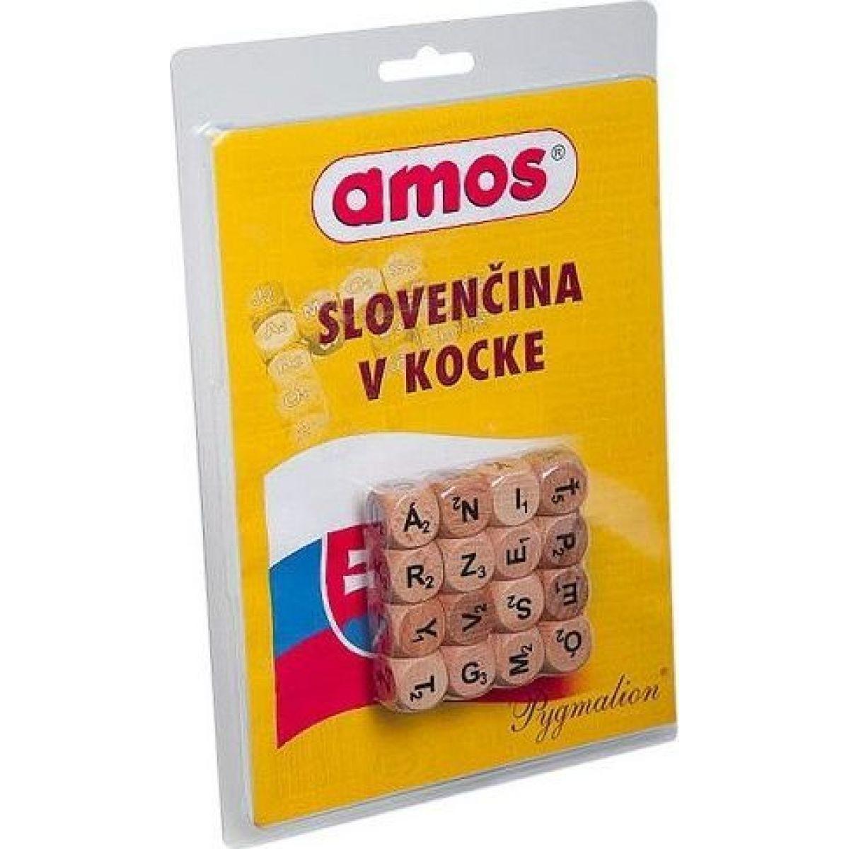 Pygmalion Amos: Slovenčina v kocke