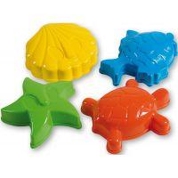 Androni Bábovičky Morské zvieratká 4ks