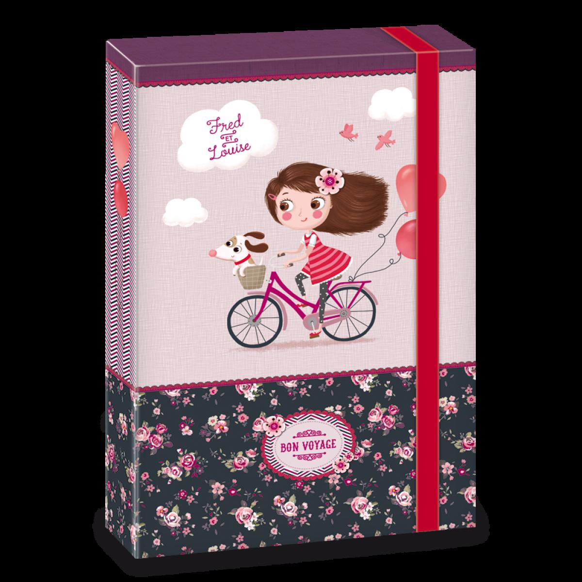 Ars Una Box na zošity Bon Voyage A4