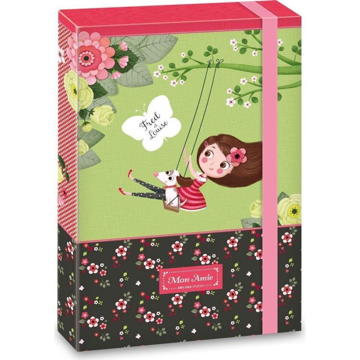 Ars Una Box na zošity Mon Amie A4