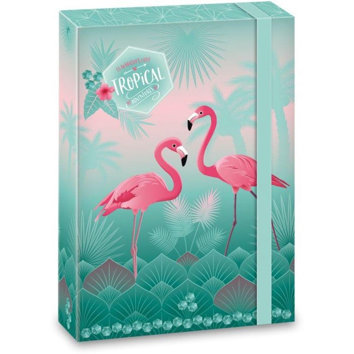 Ars Una Box na zošity Pink Flamingo A5