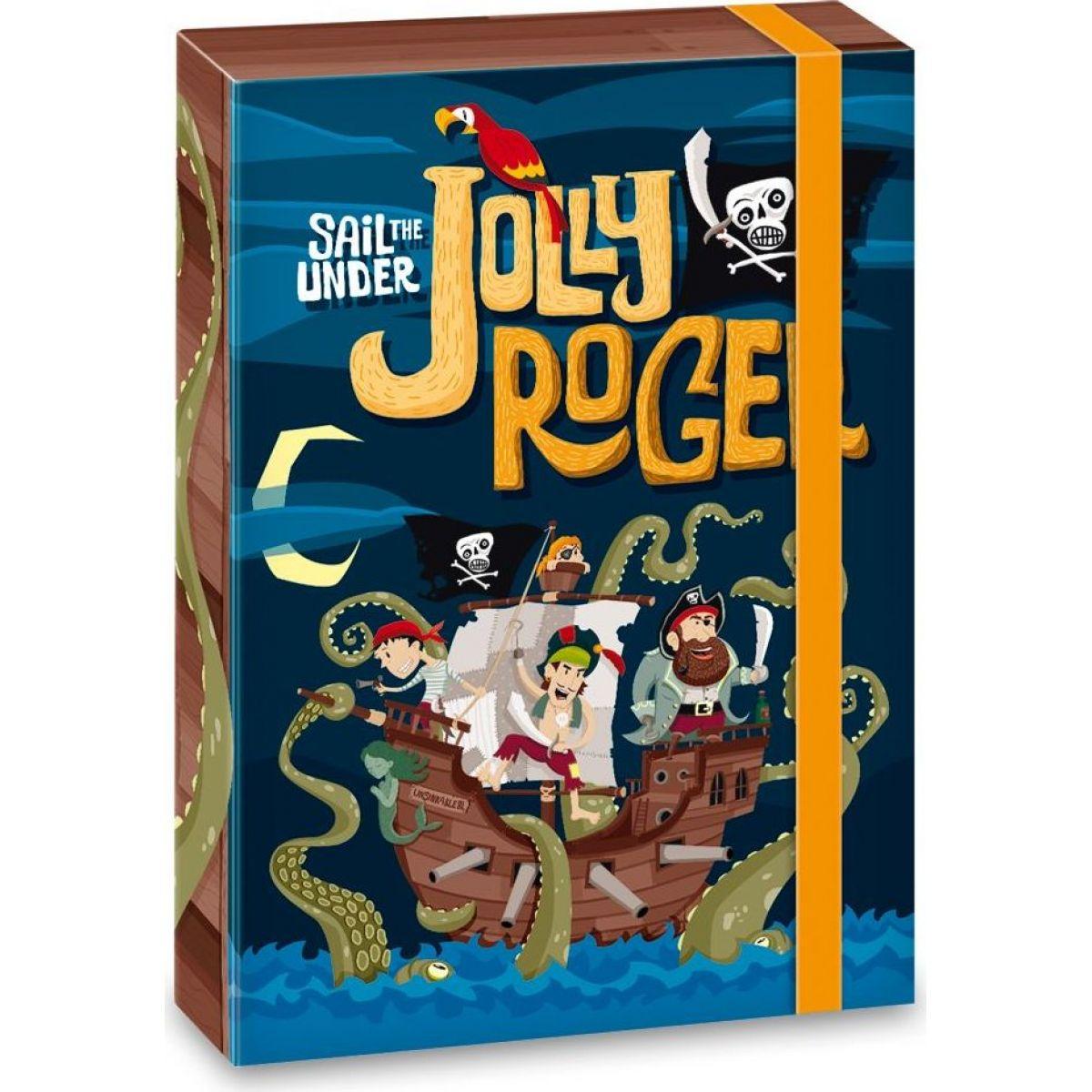 Ars Una Box na zošity Pirát Jolly Roger A4