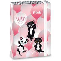 Ars Una Box na zošity Think Pink 20 A5