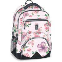 Ars Una Ergonomický školní batoh Flowers