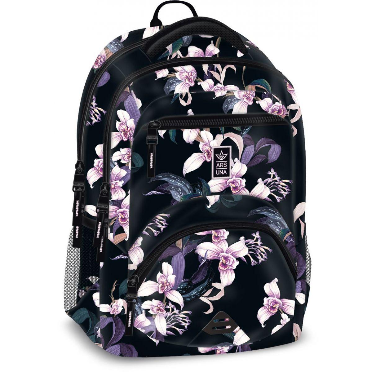 Ars Una Ergonomický školský batoh Orchidey