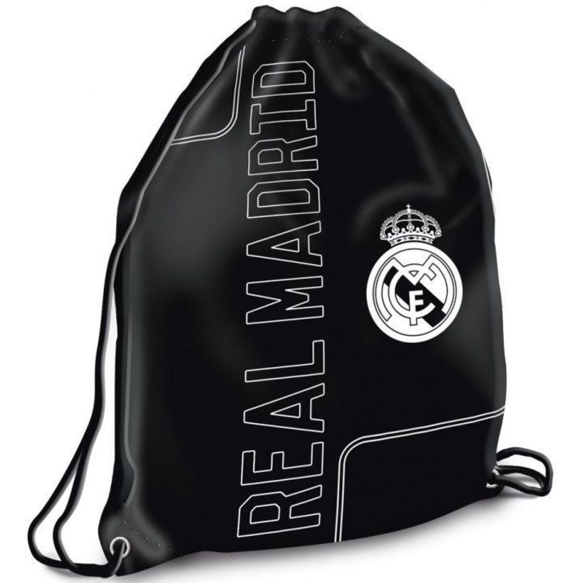 Ars Una Vrecko na prezúvky Real Madrid čierny