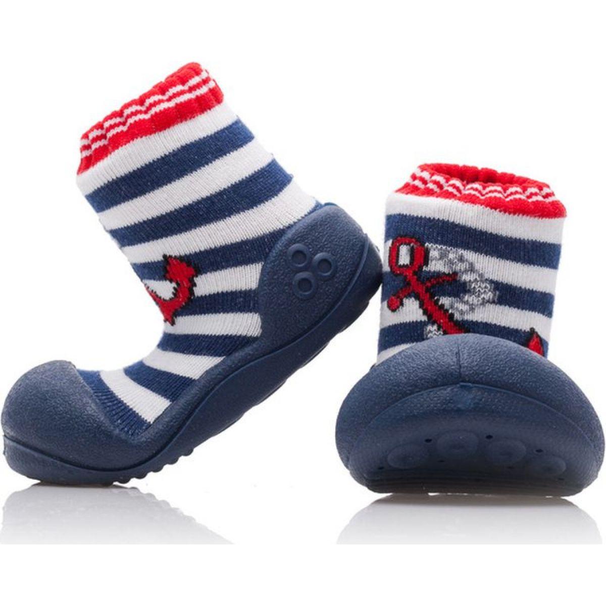 Detské topánočky ATTIPAS Marine Archor red