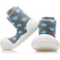 Detské topánočky ATTIPAS Polka Grey