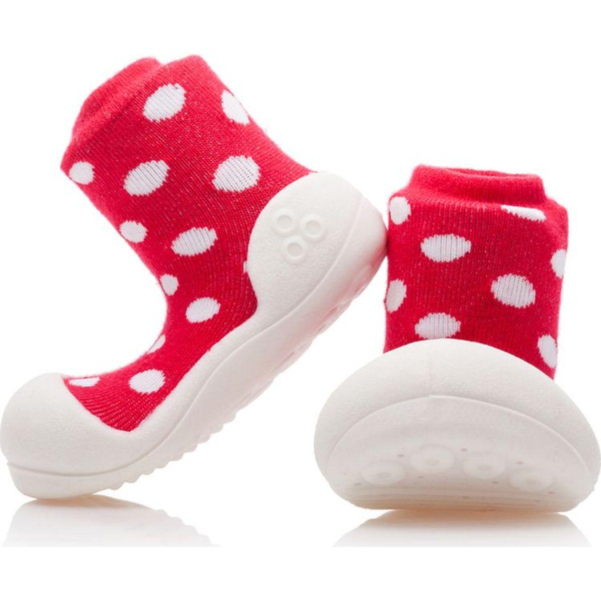 Detské topánočky ATTIPAS Polka Red
