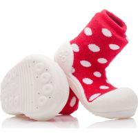Detské topánočky ATTIPAS Polka Red 2
