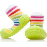 Detské topánočky ATTIPAS Rainbow Green