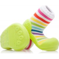 Detské topánočky ATTIPAS Rainbow Green 2