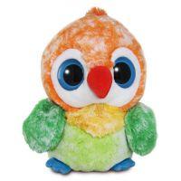 Aurora Yoo Hoo papoušek Agapornis 30 cm