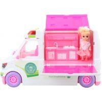 Auto piknik pre bábiky