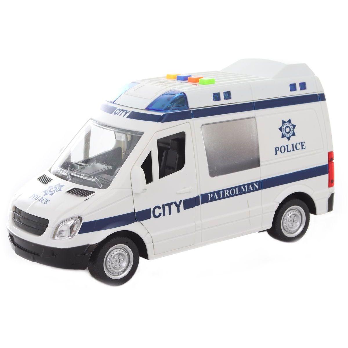 Auto polícia batérie 62601