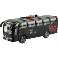 Autobus Leo express s českým hlasom