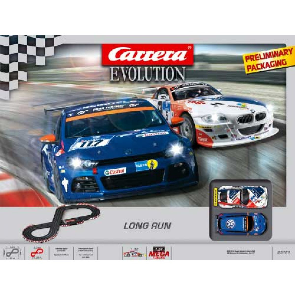 Autodráha Carrera Evolution Long Run
