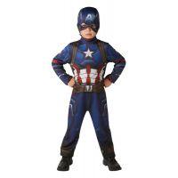 Avengers Infinity War Captain America Deluxe kostým s maskou veľkosť M