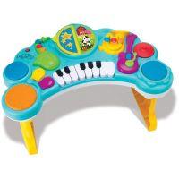 B kids Hudobné pult Music Combo modrý