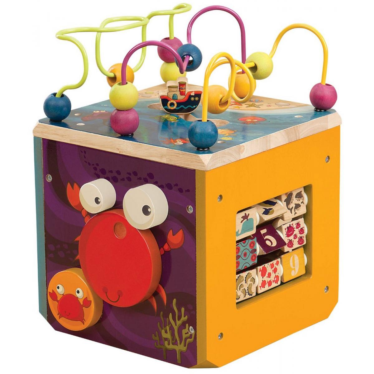 B-Toys Interaktívne kocky Underwater Zoo