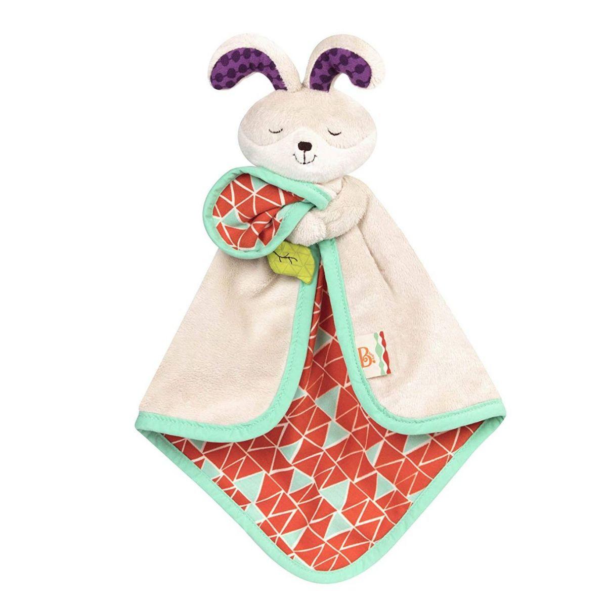 B.Toys Muchláček králiček Fluffy Bunz